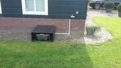 Husqvarna Automower 420 afgeleverd in Uitgeest