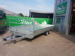 Nieuwe Henra plateauwagen afgeleverd aan Bonarius B.V.