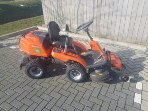 Nieuwe Husqvarna Rider R 216 AWD Afgeleverd aan restaurant Twaalfmaat Heemskerk